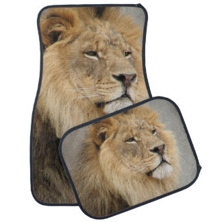 Lion Lovers King of the Jungle Car Mat