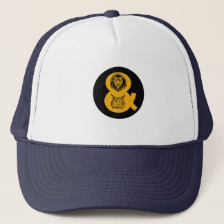 Lion & Lynx Logo Trucker Hat
