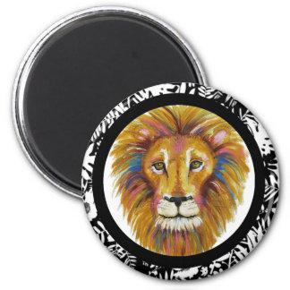Lion Magnet Two