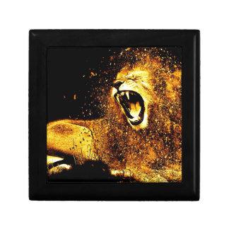 Lion Mane Hair Fur Cat Predator Males Head Gift Box
