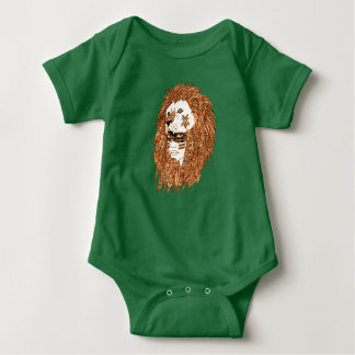 Lion Mask Baby Bodysuit