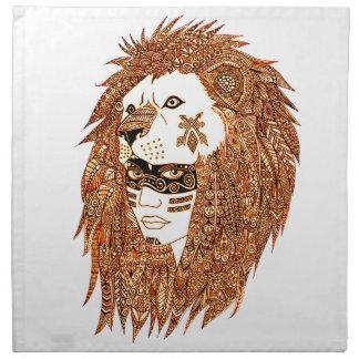 Lion Mask Napkin