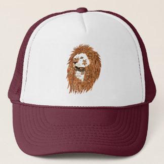Lion Mask Trucker Hat