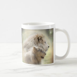 Lion Moon Art Mug