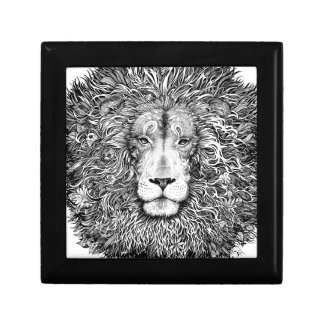 Lion nest black and white gift box