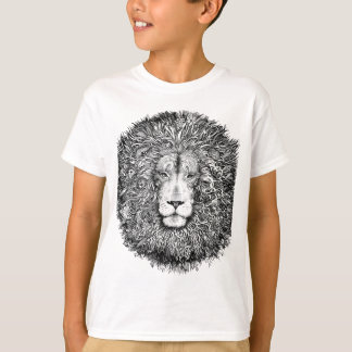 Lion nest black and white T-Shirt