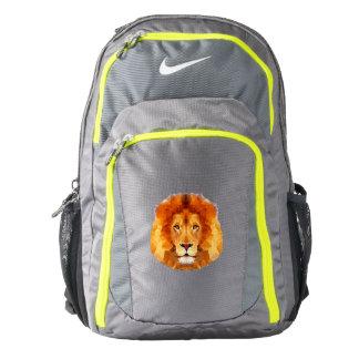 LION Nike Performance Backpack, Dark Grey/Volt Backpack