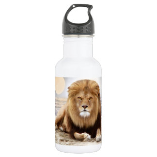 Lion Ocean Photo Paint 532 Ml Water Bottle