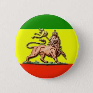 Lion of Judah 6 Cm Round Badge