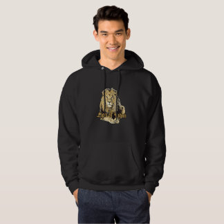 Lion OF Judah - Big Lion Hooded - Hoodie