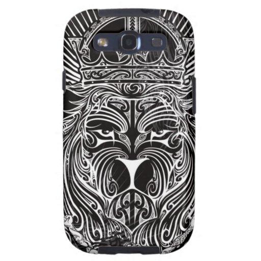 Lion of Judah BW Samsung Galaxy SIII Covers - Zazzle.com.au