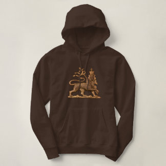 Lion OF Judah - Haile Selassie - Jah Girls Hoodie