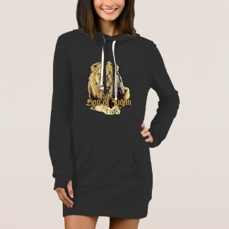 Lion OF Judah Hooded - Big Lion - Reggae Hoodie