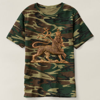 Lion OF Judah - Jah Army - Haile Selassie - shirt