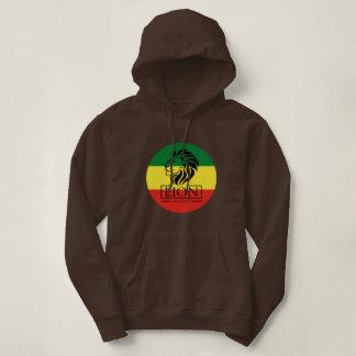 Lion OF Judah - Jah Rastafari Rasta Queen Hoodie