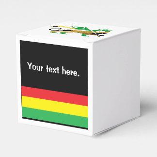 Lion of Judah, Jamaican flag colors Favour Box