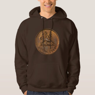 Lion OF Judah - Lion Rasta Reggae Hooded - Hoodie