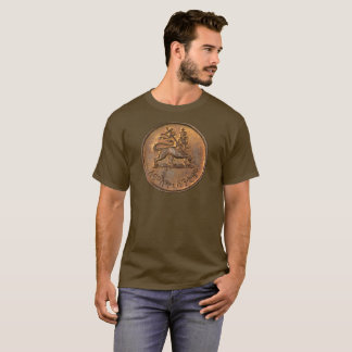 Lion OF Judah - Rasta Coin - Reggae shirt