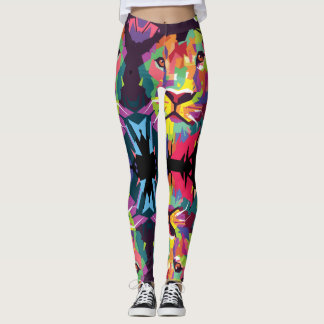 Lion OF Judah - Rasta Poly - power Yoga put-went Leggings