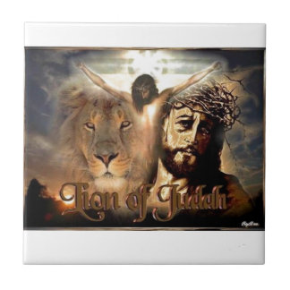 Lion of Judah Small Square Tile