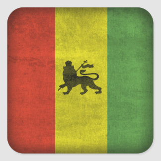 Lion of Judah Square Sticker