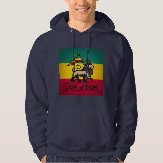 Lion OF Zion - Haile Selassie - Judah Hoodie