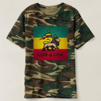 Lion OF Zion - Jah Army - Haile Selassie - shirt