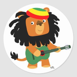 Lion of Zion sticker