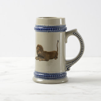 Lion Office Home Personalize Destiny Destiny'S Beer Stein