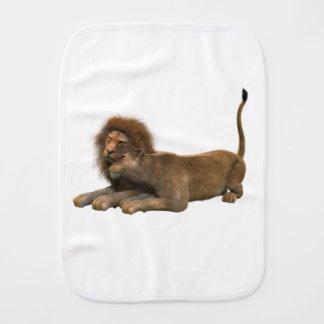 Lion Office Home Personalize Destiny Destiny'S Burp Cloth