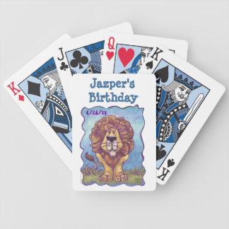Lion Party Center Poker Deck