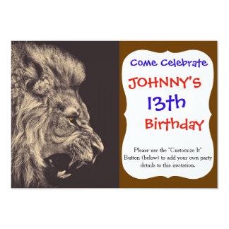 lion pencil art lion roar black and white card