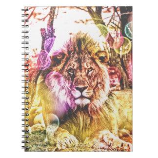 Lion photo notebook