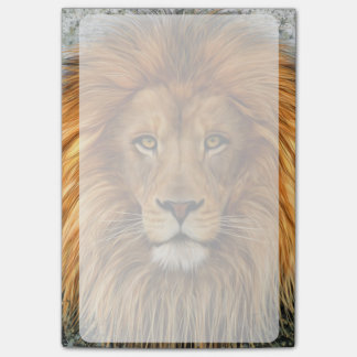 Lion Photograph Paint Art image Post-it® Notes