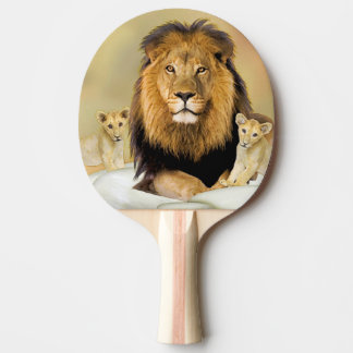 lion ping pong paddle