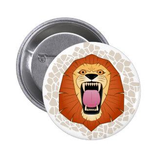 Lion.png Pinback Buttons