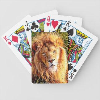 Lion Poker Deck