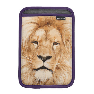 LION PORTRAIT iPad MINI SLEEVE