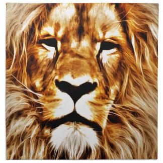 Lion Portrait Napkins