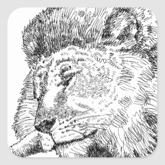 Lion Products.jpg Square Sticker