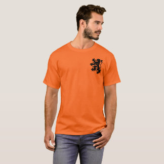 Lion Rampant. Netherlands. T-Shirt