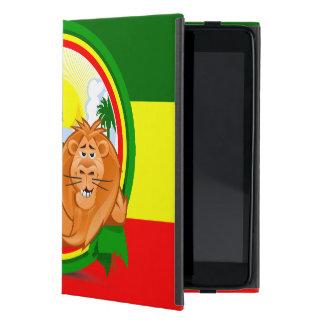 Lion rasta case for iPad mini