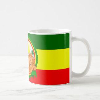 Lion rasta coffee mug