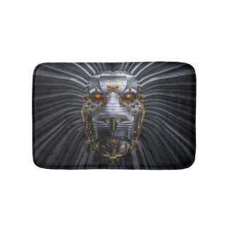 Lion Robot Bath Mats