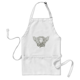 Lion Royalty ~ Customize Gift Template Aprons