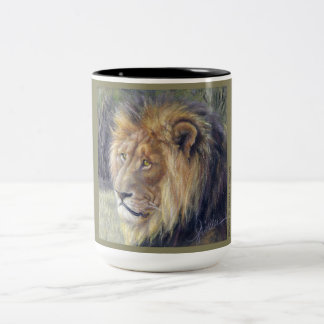 Lion Safari 2-tone mug