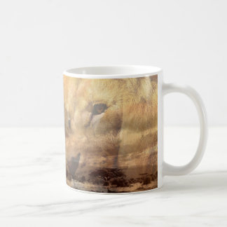 Lion safari mug