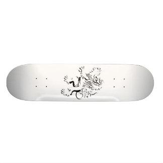 lion 19.7 cm skateboard deck