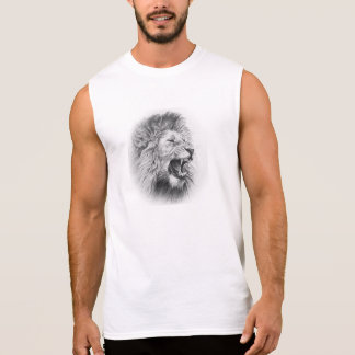 Lion Sleeveless Shirt