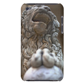 lion statue Florence Italy Barely There iPod Cases